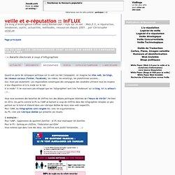 PS vs UMP: les infographies sont aussi des armes de campagne sur le net
