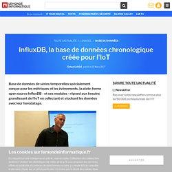 InfluxDB, la base de données chronologique créée pour l'IoT