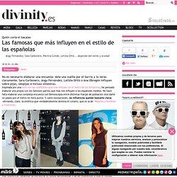 Las famosas que más influyen en el estilo de las españolas , Divinity