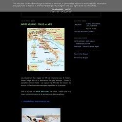 INFO AERO: INFOS VOYAGE : ITALIE en VFR