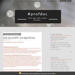 Info-doc et EMI : les algorithmes