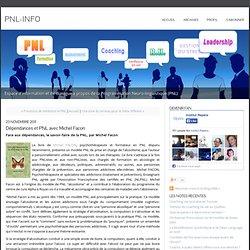 Dépendances et PNL avec Michel Facon