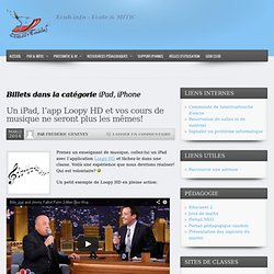 Info Ecublens – iPad, iPhone
