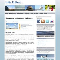 Info Eolien : histoire des éoliennes