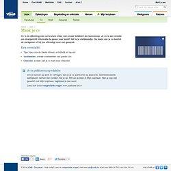 VDAB: Info voor het perfecte cv