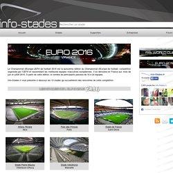 FRANCE Les 10 Stades subventionnés de l'Euro 2016