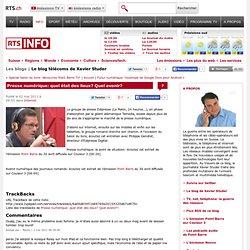 tsr.ch - Info - Le blog télécoms de Xavier Studer