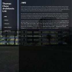 / Info « Thomas Chow Architects