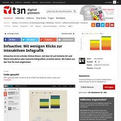 Infoactive: Mit wenigen Klicks zur interaktiven Infografik