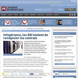 Infogérance, les DSI tentent de renégocier les contrats