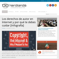 Los derechos de autor en Internet y por qué te debes cuidar [Infografía]