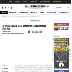 Un sitio web para crear infografías con numerosas plantillas - Clases de Periodismo