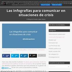 Las infografías para comunicar en situaciones de crisis