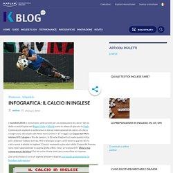 Infografica: il calcio in inglese