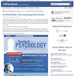 INFOGRAPHIC: The Psychology Of Facebook