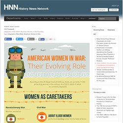 Infographic of the Week: American Women in War