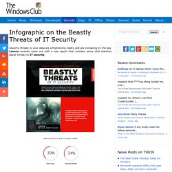 Infographic on the Beastly Threats of IT Security