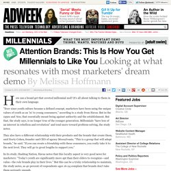 Infographic: This Is How Brands Can Get More Millennial Love