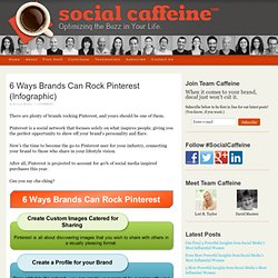 6 Ways Brands Can Rock Pinterest (Infographic)
