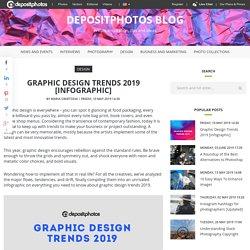 Graphic Design Trends 2019 [Infographic] - Depositphotos blog