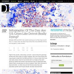 Infographic Of The Day: Are U.S. Cities Like Detroit Really Dying?