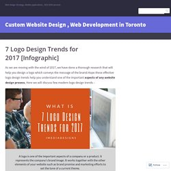 7 Logo Design Trends for 2017 [Infographic] – Custom Website Design , Web Development in Toronto