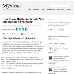 How to use Digital in Retail - NEW! Infographic on Digitail
