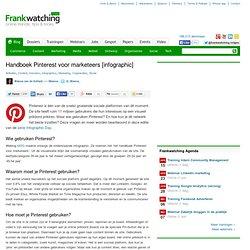 Handboek Pinterest voor marketeers [infographic]