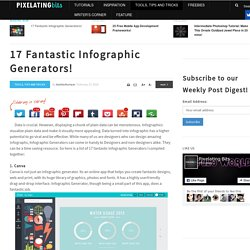 17 Fantastic Infographic Generators!