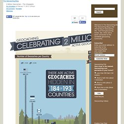 2 Million Geocaches – The Infographic