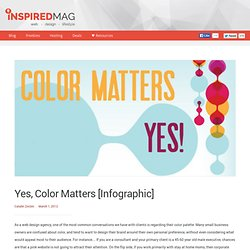 Yes, Color Matters [Infographic]