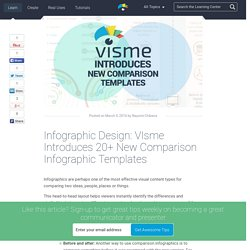 Infographic Design: VIsme Introduces 20+ New Comparison Infographic Templates