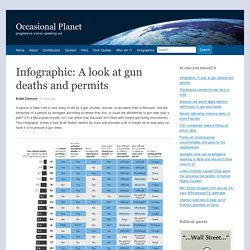 Infographic: A look at gun deaths and permits - Occasional Planet