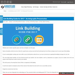 Link Building Guide for 2017 - An Infographic Presentation