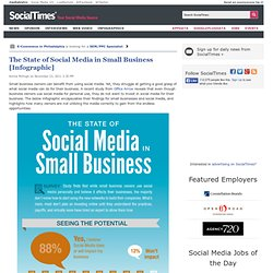 The State of Social Media in Small Business [Infographic]