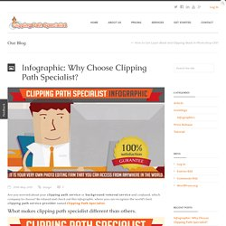 Infographic: Why Choose Clipping Path Specialist?