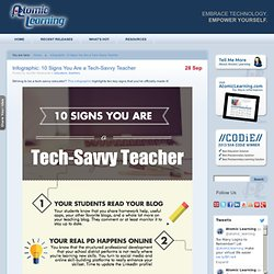 10 Signs You Are a Tech-Savvy Teacher