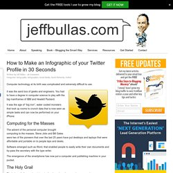 How to Make an Infographic of your Twitter Profile