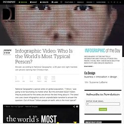 Infographic Video: Who Is the World's Most Typical Person? | Co.Design