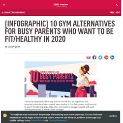 [Infographics] 10 Gym Alternatives for Busy Parents Who Want to Be Fit/Healthy in 2020