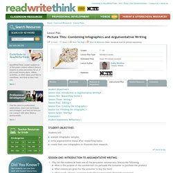 Picture This: Combining Infographics and Argumentative Writing