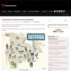 A Compendium of Cryptid and Creature Infographics