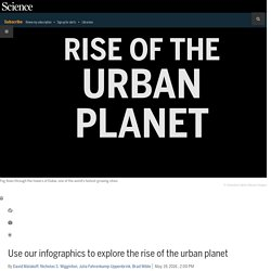 Use our infographics to explore the rise of the urban planet