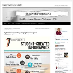 Digital Literacy: Teaching Infographics, a sub-genre