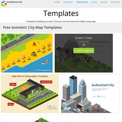 Icogram Templates - create your icon diagrams, infographics and illustrations from templates