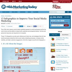 13 Infographics to Improve Your Social Media Marketing