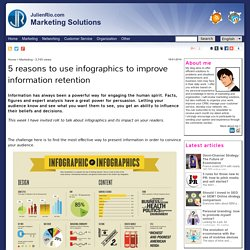5 reasons to use infographics to improve information retention