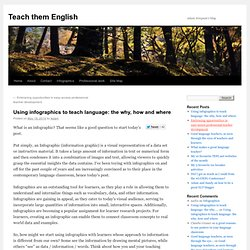 Using infographics to teach language: the why, how and where