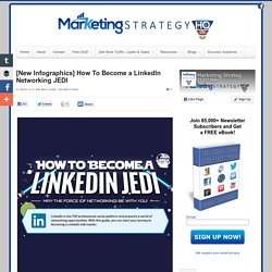 [Infographics] How To Become a LinkedIn Networking JEDI