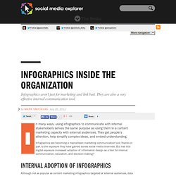 Infographics Inside the Organization